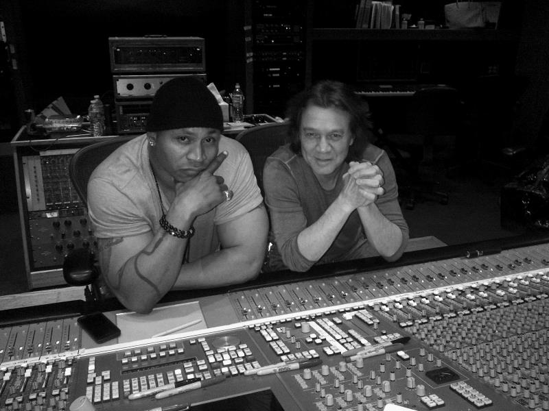 """LL Cool J lucrează cu Eddie Van Halen la noul său album """"Authentic"""""""