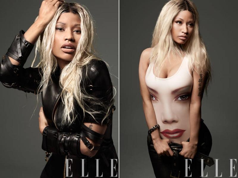 Nicki Minaj pentru revista ELLE, aprilie 2013