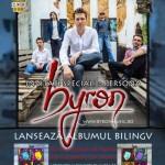 Poster Concert byron la Casa de Cultură a Studenților din Timișoara pe 30 martie 2013