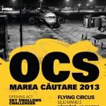 Poster concert OCS în Flying Circus Pub din Cluj Napoca pe 16 martie 2013
