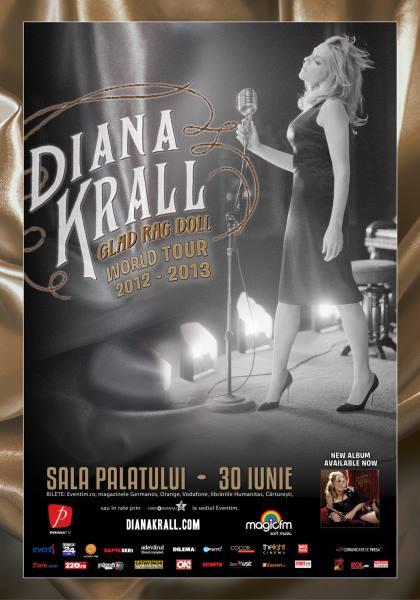 Diana Krall la Sala Palatului
