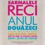 Poster turneu aniversar Sarmalele Reci - Anul douăzeci