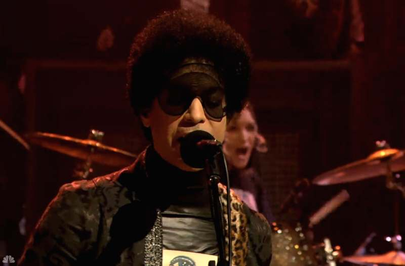 Prince la emisiunea lui Jimmy Fallon
