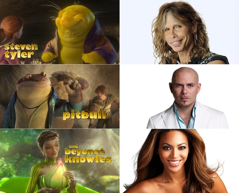 "Steven Tyler, Pitbull și Beyonce dau voci pentru noua animație ""Epic"""