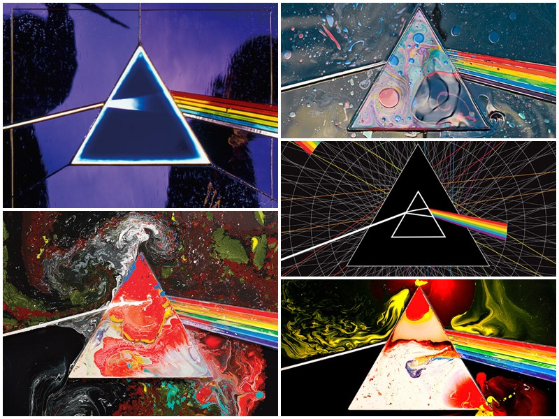 "Colaj aniversare 40 de ani ""The Dark Side Of The Moon"" - Pink Floyd"