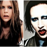 Avril Lavigne si Marylin Manson