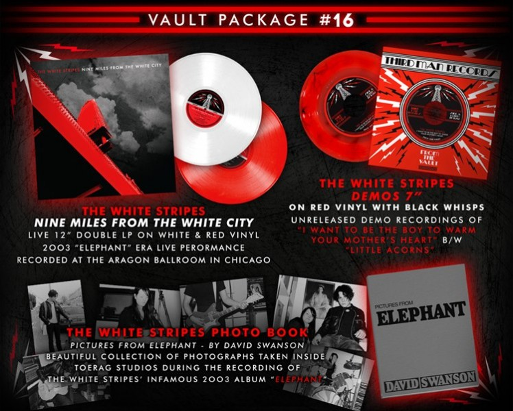 """""""Nine Miles From The White City"""" - The White Stripes"""