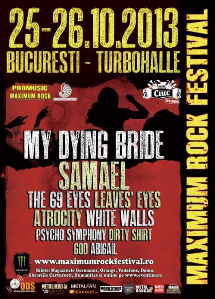 Maximum Rock Festival la Turbohalle
