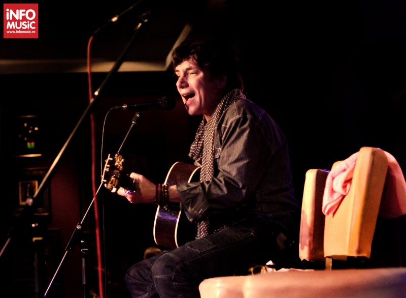 Eric Martin, The Voice of Mr. Big, in Hard Rock Cafe pe 29 martie 2013