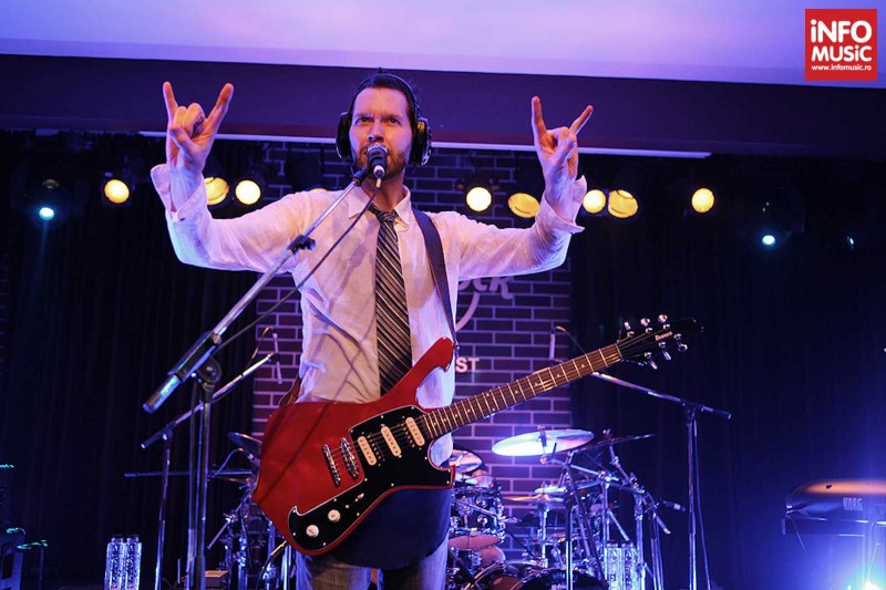 Concert Paul Gilbert in Hard Rock Cafe pe 31 martie 2013