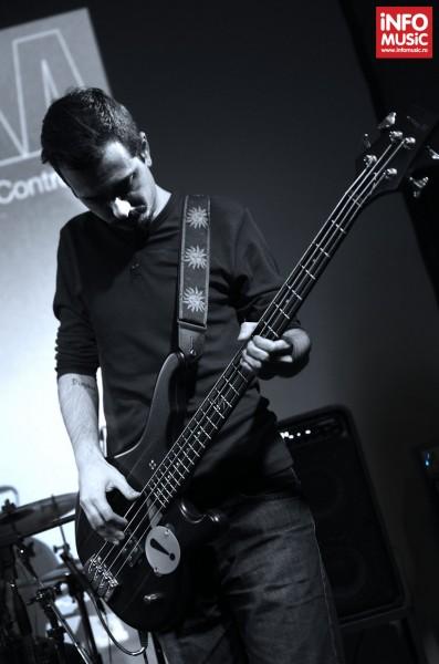 Sorin Erhan în concertul TRAVKA din Club Control pe 18 aprilie 2013