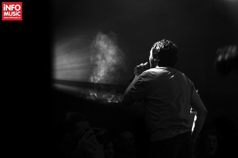 George Gâdei în concertul TRAVKA din Club Control pe 18 aprilie 2013