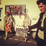 Tudor Chirila in timpul filmarilor pentru videoclipul Perfect fara tine