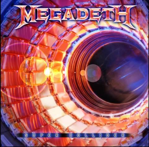 Megadeth - Coperta albumului Super Collider