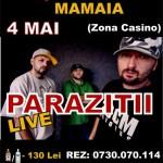 poster-concert-parazitii-sambata-4-mai-club-megalos-mamaia
