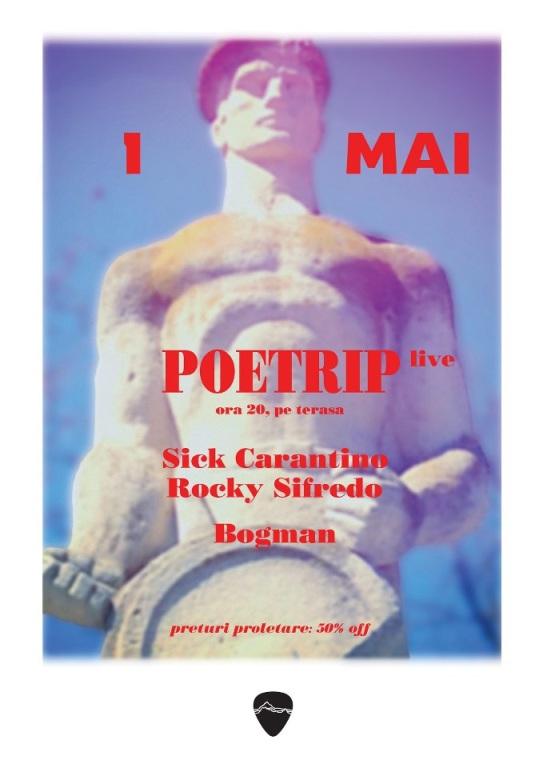Poetrip - Sick Carantino - Rocky Sifredo - Bogman la Club Control