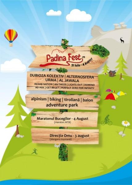 Padina Fest 2013 cu Dubioza Kolektiv, Alternosfera, Luna Amară și Al Jawala