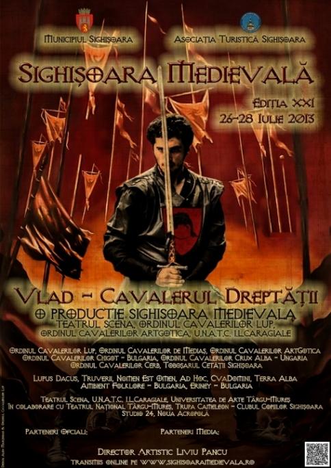 Festivalul Sighișoara Medievală 2013 la Cetatea Sighișoarei