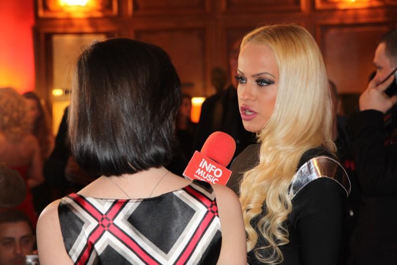 Anda Adam - interviu pentru InfoMusic la On Air Music Awards 2013