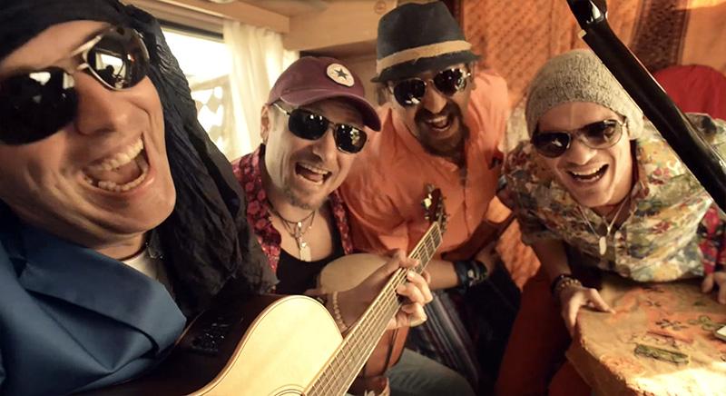 Trupa VAMA în videoclipul  Perfect fara tine