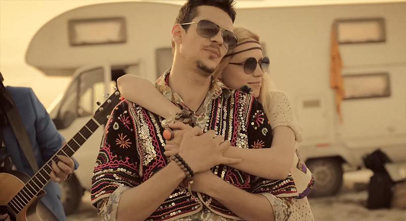 Tudor Chirila si Andreea Cohuț în videoclipul VAMA - Perfect fara tine