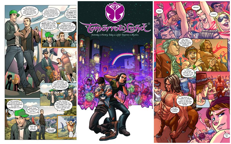 Tomorrowland comic book