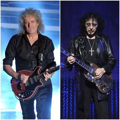 Tony Iommi și Brian May vor să realizeze un album de riff-uri împreună