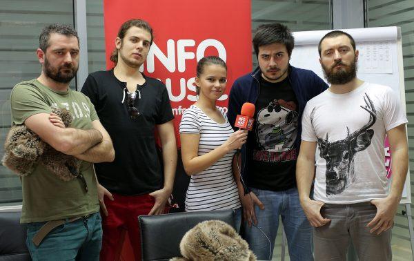 Trupa Toulouse Lautrec intervievata de Lavinia Fusu (InfoMusic.ro)