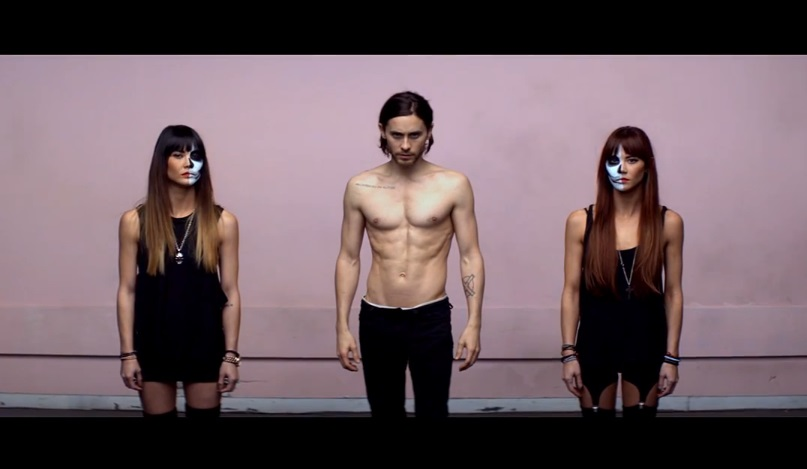 """Secvență clip """"Up In The Air"""" - 30 Seconds to Mars"""
