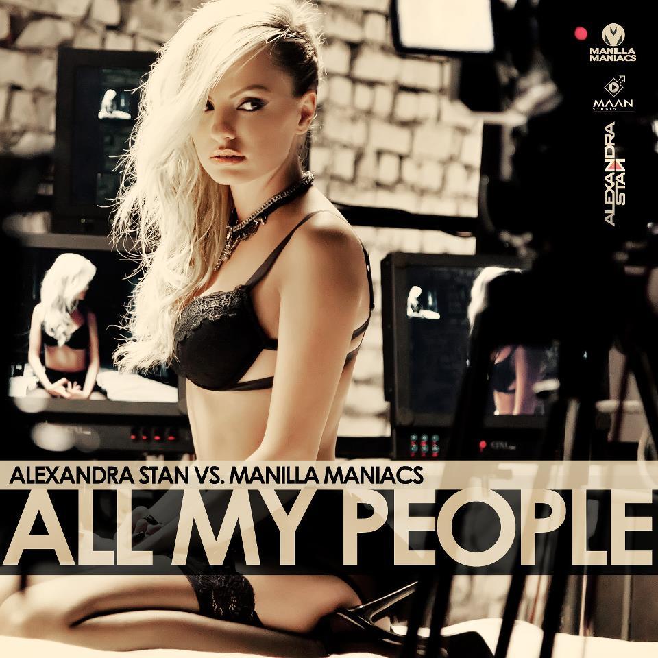 "Alexandra Stan vs. Manilla Maniacs - ""All My People"""
