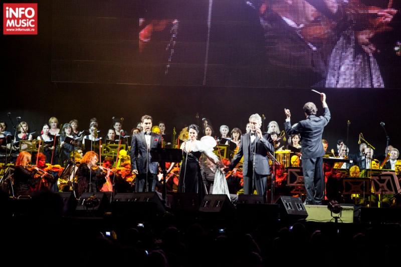 Concert Andrea Bocelli la Bucuresti pe 25 mai 2013