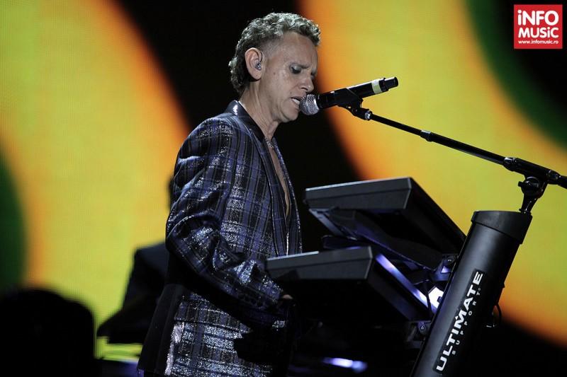 Martin Gore - Concert Depeche Mode pe Arena Nationala - 15 mai 2013