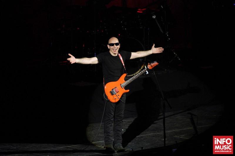 Concert Joe Satriani la Sala Palatului pe 20 mai 2013