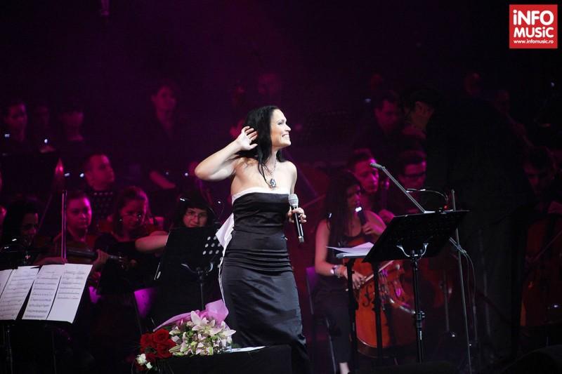 Tarja Turunen si Mike Terrana in concert clasic la Sala Palatului pe 7 mai 2013