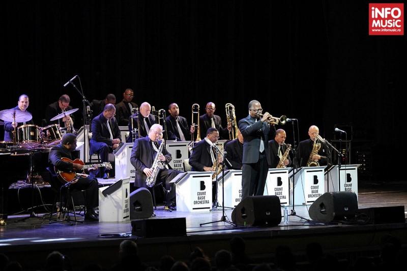 Count Basie Orchestra in concert la Sala Palatului pe 14 mai 2013