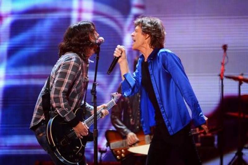 Dave Grohl a cântat cu The Rolling Stones piesa