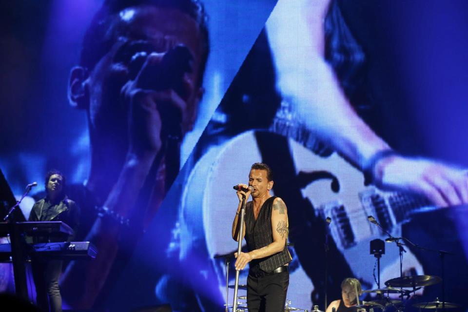 Depeche Mode @ Nisa 4 Mai 2013