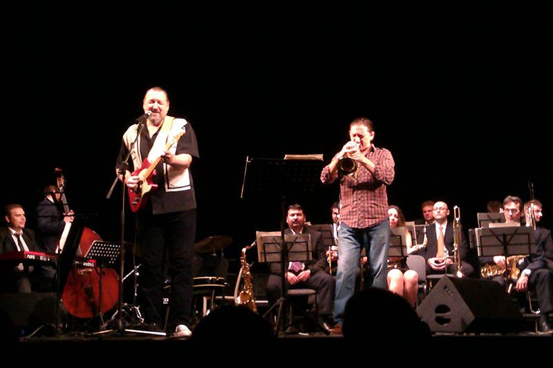 Emil Bîzga Jazz Orchestra la Teatrul Odeon