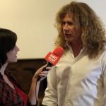 Dave Mustaine intervievat de InfoMusic.ro înaintea debutului turneului Super Collider la Bucuresti