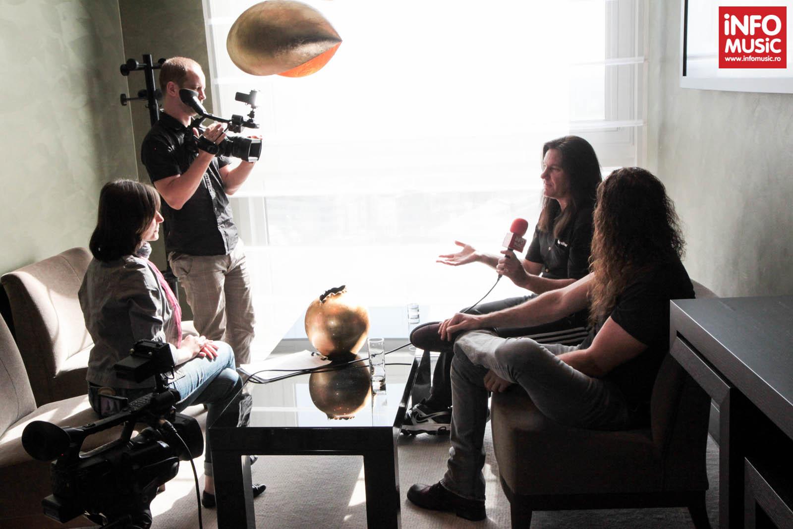 Shawn Drover și Chris Broderick (MEGADETH) intervievați de InfoMusic.ro