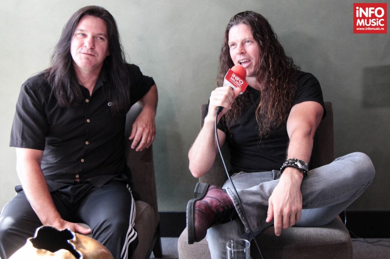Shawn Drover și Chris Broderick (MEGADETH) intervievați de InfoMusic.ro