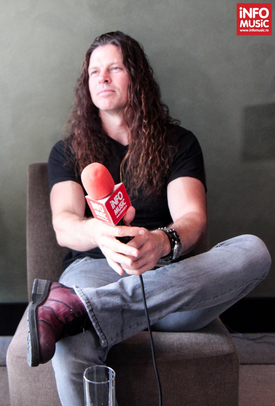 Chris Broderick (MEGADETH) intervievat de InfoMusic.ro
