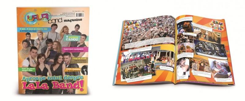 Primul număr Lala Band Magazine