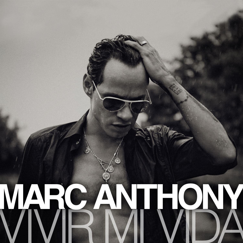 """Marc Anthony - Artwork single """"Vivir La Vida"""""""