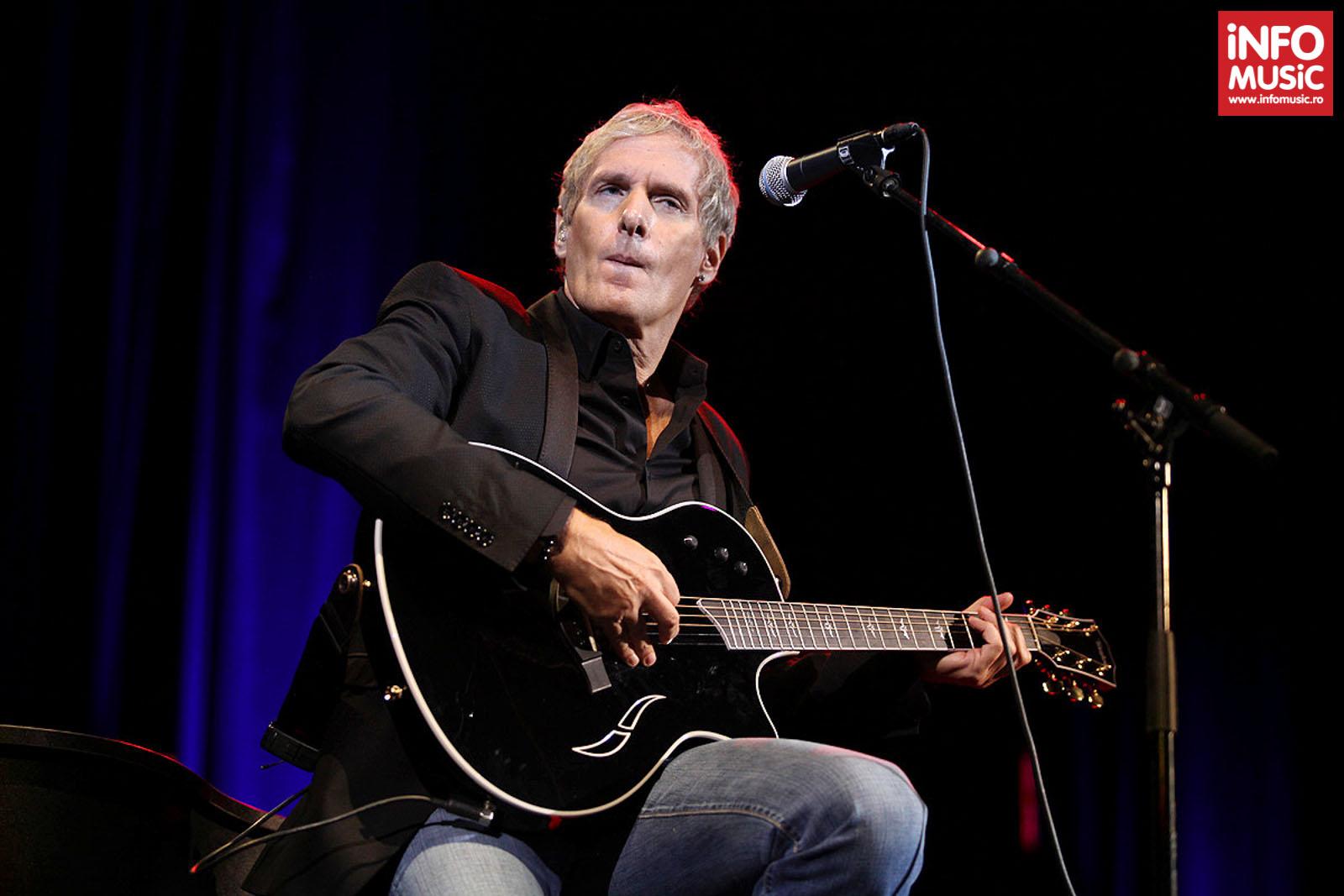 Michael Bolton in concert la Sala Palatului pe 16 mai 2013