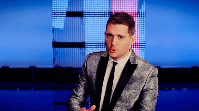 Michael Buble în clipul