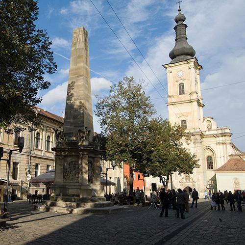 Piața Muzeului (Piața Victoriei) din Cluj din Cluj-Napoca