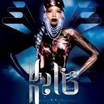 Poster concert Kelis în club Boa din București pe 1 iunie 2013