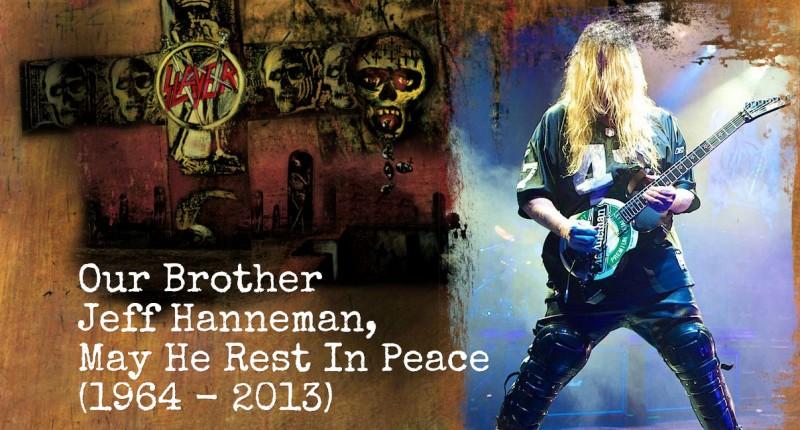 Moartea lui Jeff Hanneman a fost anunțată pe site-ul Slayer