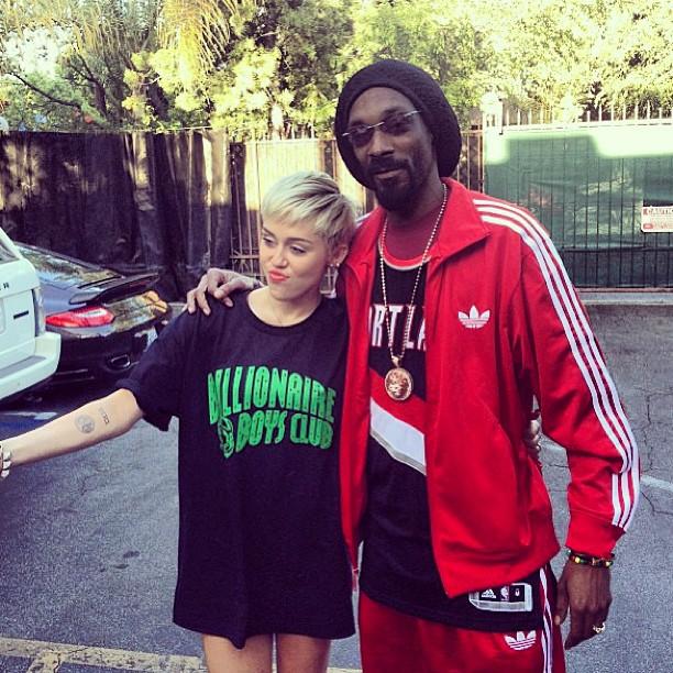 Snoop Lion și Miley Cyrus